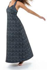 Robe longue imprimée avec un dos nu original Lucia 305534