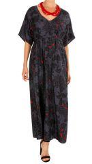 Robe longue imprimée coupe cintrée sous la poitrine Keila 309145