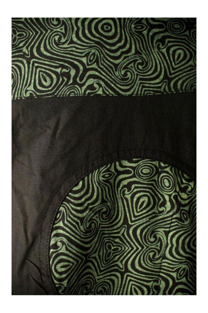 Robe longue noire décolletée pour femme à dos nu Mina 305460