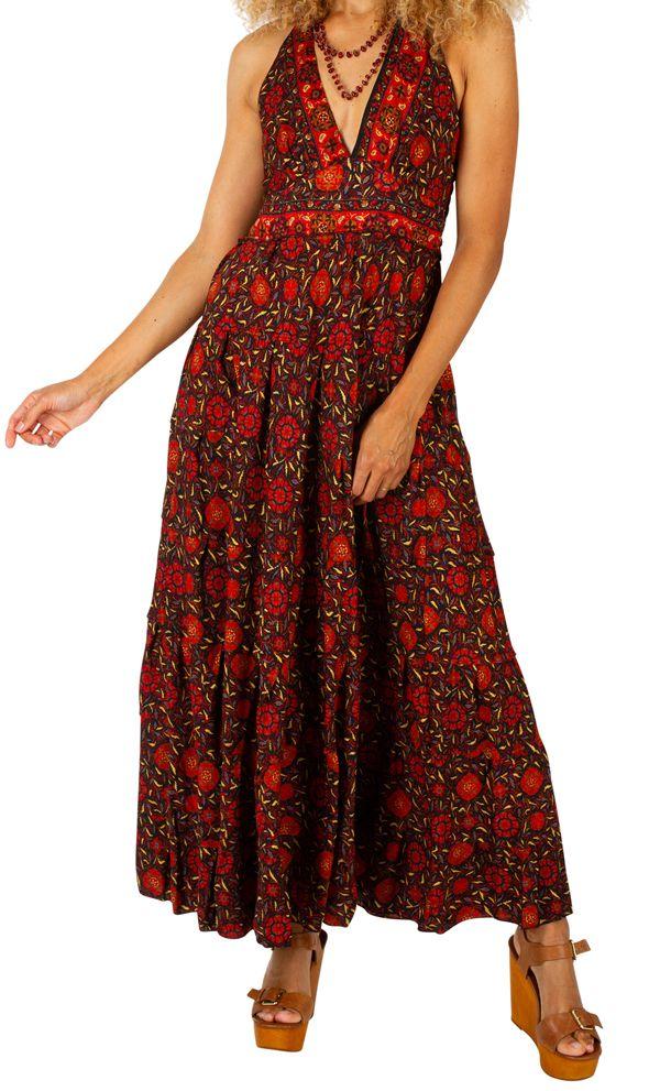 Robe longue originale et pas chère idéale été Maileen 310308
