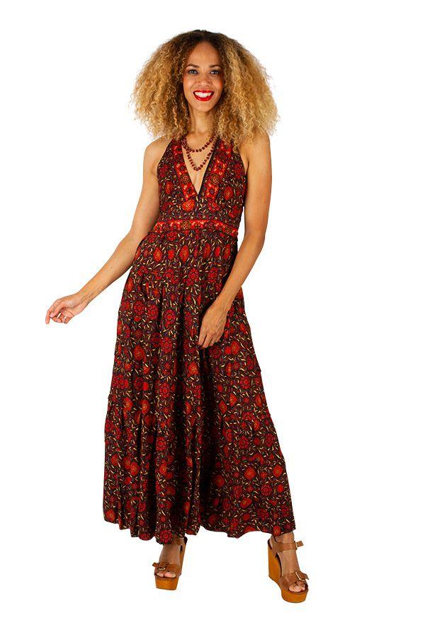 Robe longue originale et pas chère idéale été Maileen 310309