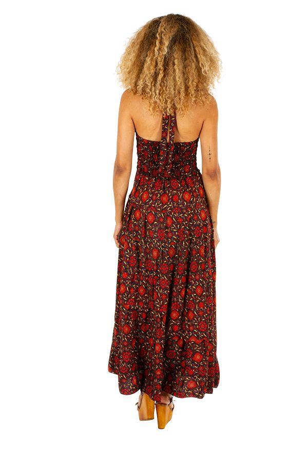 Robe longue originale et pas chère idéale été Maileen 310310