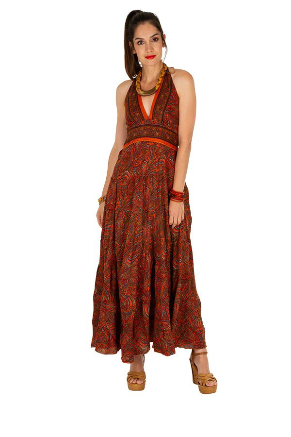 Robe longue originale parfaite pour un événement Mariana 310329