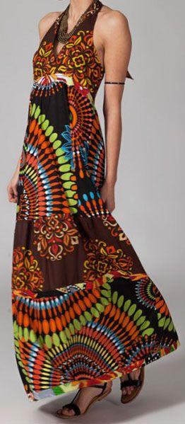 Robe longue pas chère Simone 270010