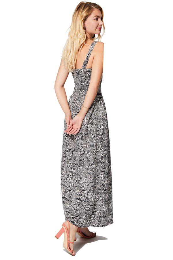 Robe longue pour femme en ligne imprimé chic ethnique Liliana