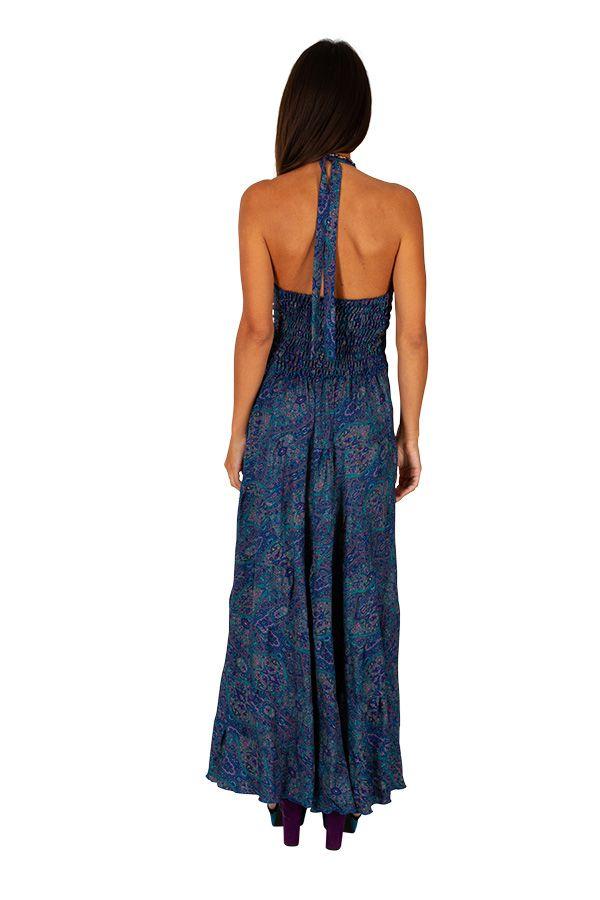Robe longue pour femme ethnique et bohème Clotilde 310288