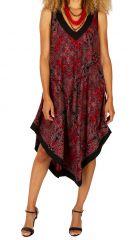 Robe longue pour femme originale à larges bretelles Leyna 311627