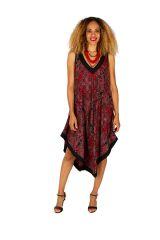 Robe longue pour femme originale à larges bretelles Leyna 311628