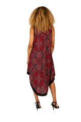 Robe longue pour femme originale à larges bretelles Leyna 311629