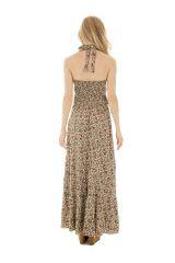 robe longue romantique smockée au dos et imprimés floraux Karalee 289739