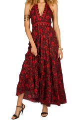 Robe longue sans manches estivale et très colorée Ula 310274