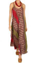 Robe longue très féminine à l'esprit bohème et zen Capucine 311514