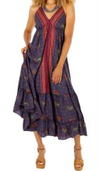 Robe longue très légère ethnique et originale Emma 311454