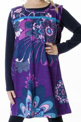 Robe magnifique pour fille avec un imprimé de rosaces 287371
