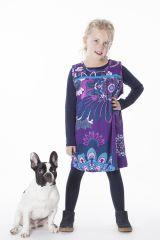 Robe magnifique pour fille avec un imprimé de rosaces 287373