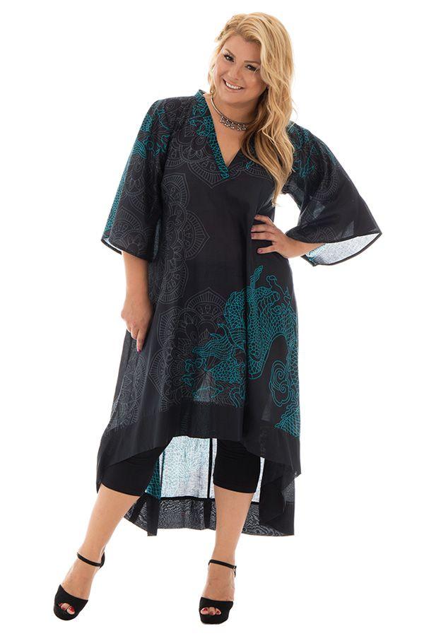 Robe mi longue asymétrique grande taille Saturday 293565