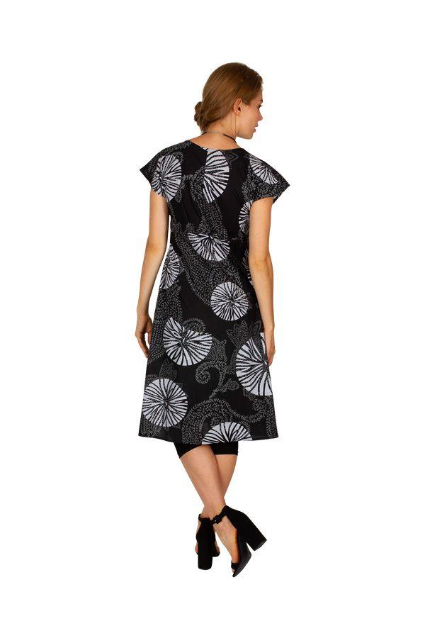 Robe mi-longue avec un imprimé original pour un look moderne Mia 306622