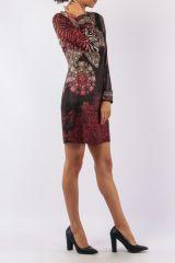 Robe mi-longue avec un imprimé original tendance Louisa 305430