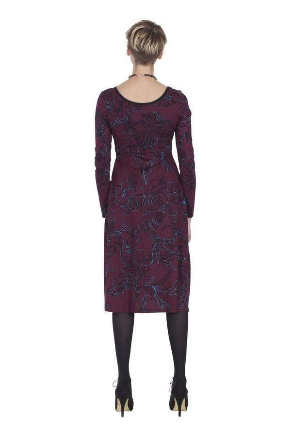 Robe mi-longue Originale et Ethnique Tiphaine Vigne 285406