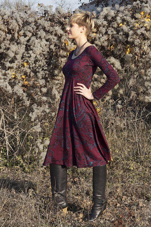 Robe mi-longue Originale et Ethnique Tiphaine Vigne 285407