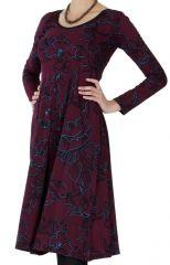 Robe mi-longue Originale et Ethnique Tiphaine Vigne 287140
