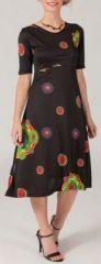 Robe mi-longue style ethnique tendance Margaux 1 271724