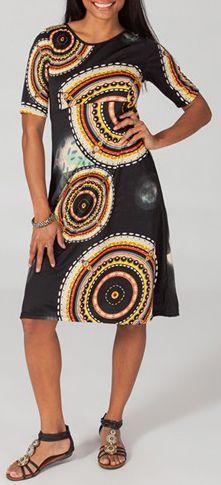Robe mi-longue style ethnique tendance Margaux 3 271726