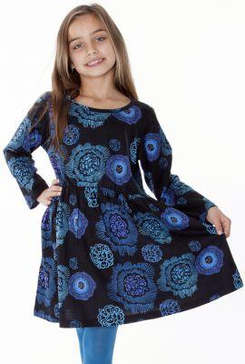 Bleue Taille Et Pour Robe À Noire Enfant La Élastiquée tdBhsQxrC