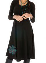 Robe noire pas chère chic pour femme idéale soirée  Carnot 315552