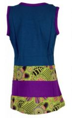 Robe originale bleue pour fillette Sara 268651