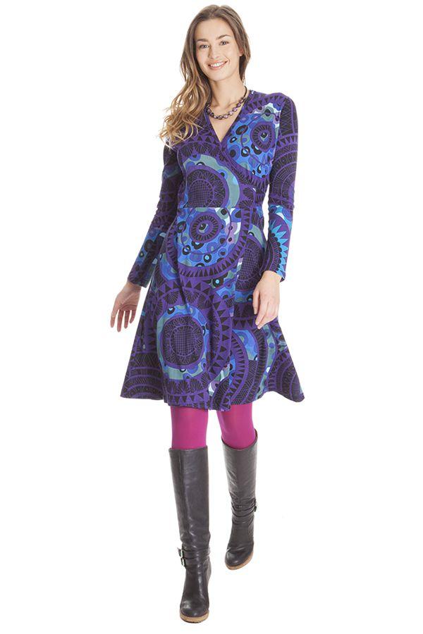 Robe Originale et Colorée à Tendance Ethnique Nyala 285481