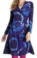 Robe Originale et Colorée à Tendance Ethnique Nyala 287443