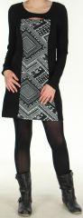 Robe Originale et Ethnique idéale pour Soirée Angie Noire 278977