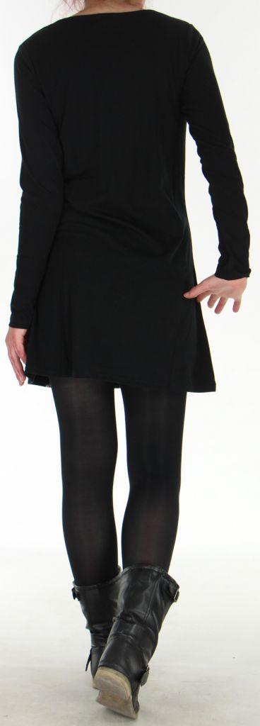 Robe Originale et Ethnique idéale pour Soirée Angie Noire 278979