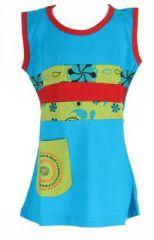 Robe originale pour bébé et enfant bleue Sia 269610