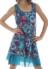 Robe originale pour enfant à doublure en voile de coton Lara 294543