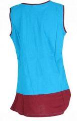 Robe originale pour enfant bleue Fabiola 269558
