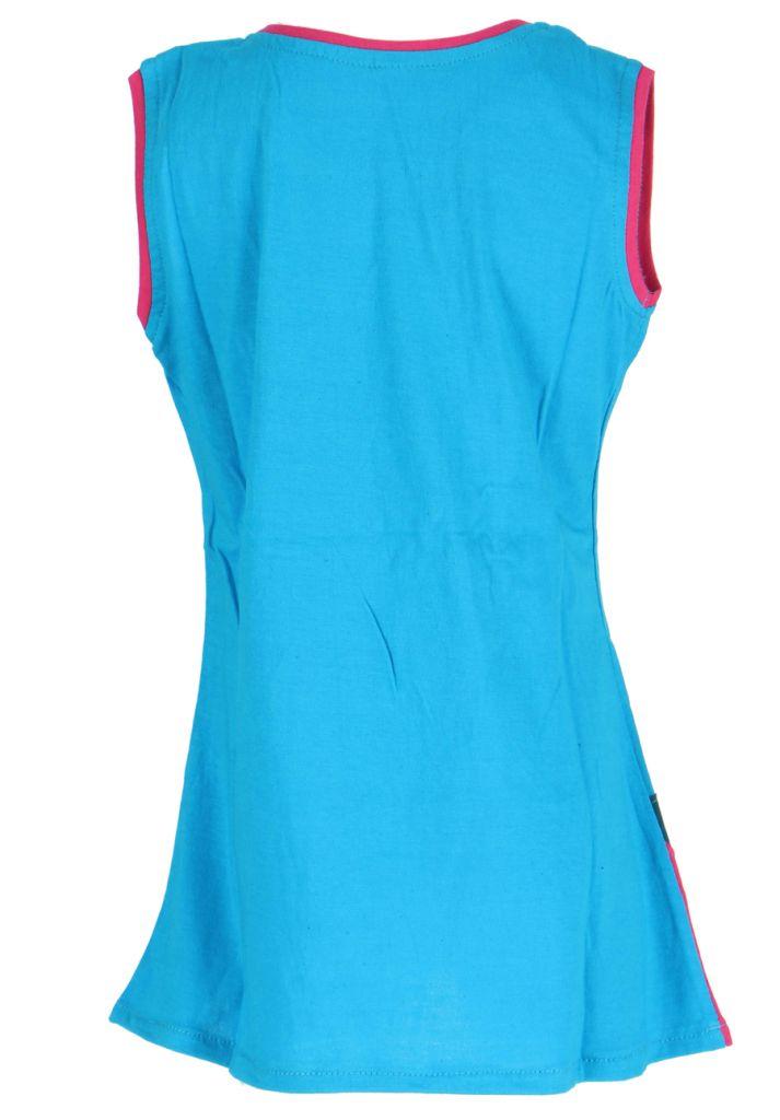 Robe originale pour enfant bleue Pioupiou 270908
