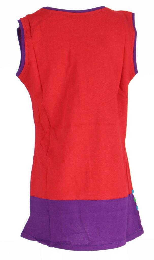 Robe originale pour enfant rouge Fabiola 269569