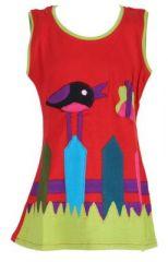 Robe originale pour enfant rouge Pioupiou 270911