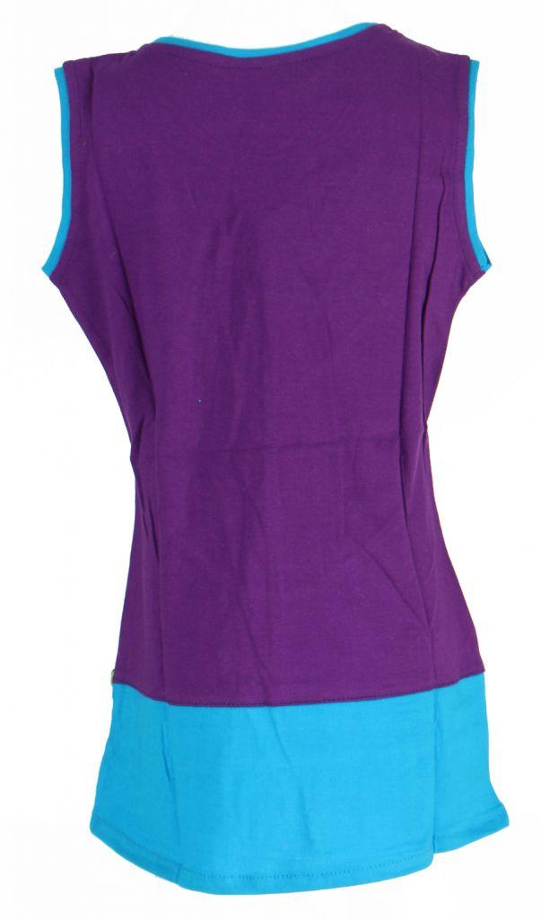 Robe originale pour enfant violette Fabiola 269564