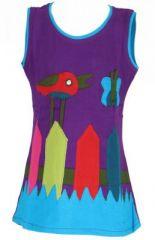 Robe originale pour enfant violette Pioupiou 270915