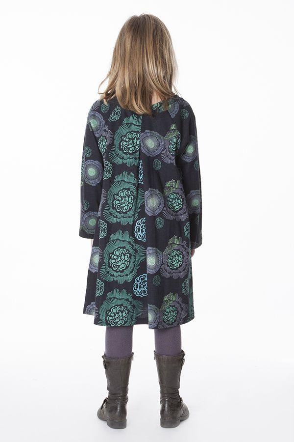 Robe originale pour fille à manches longues Milana 287334