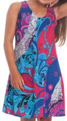 Robe Originale pour Fille et Ethnique Fuchsia Rolly 280156