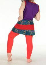 Robe originale violette pour fillette Sara 270794