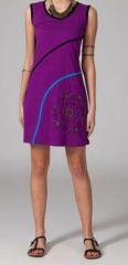 Robe originale violette Rajae 269221