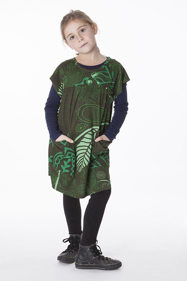 Robe ou tunique à manches courtes pour enfant 287360