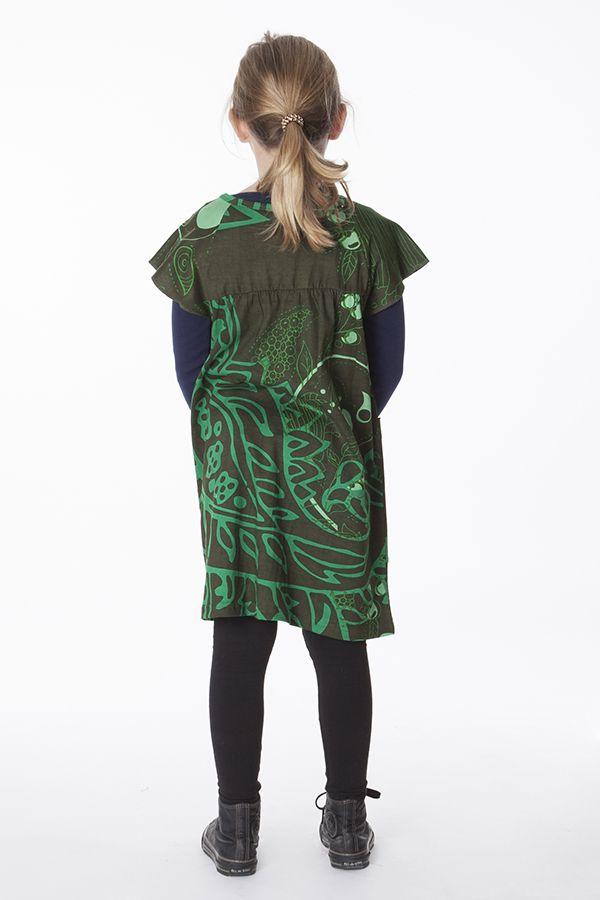 Robe ou tunique à manches courtes pour enfant 287361