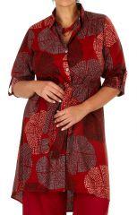 Robe ou tunique ethnique et colorée en grande taille Lydia 309795