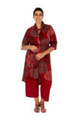 Robe ou tunique ethnique et colorée en grande taille Lydia 309796